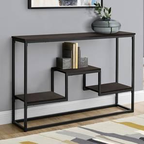 Cruz Console Table (Black, Powder Coating Finish) by Urban Ladder - Cross View Design 1 - 367891
