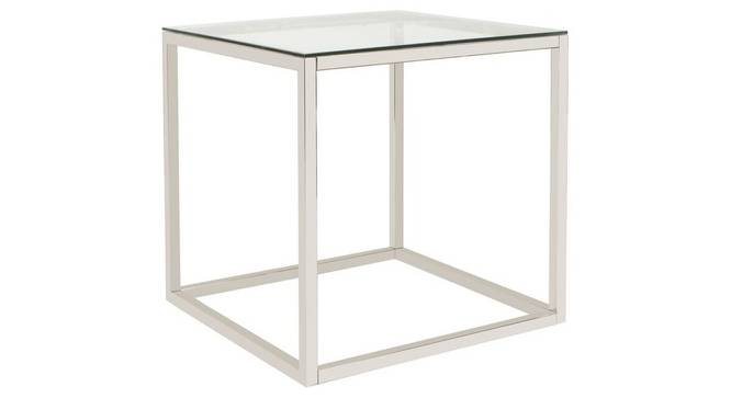 Mikkel Side & End Table (Stainless Steel Finish, Chrome) by Urban Ladder - Cross View Design 1 - 368197