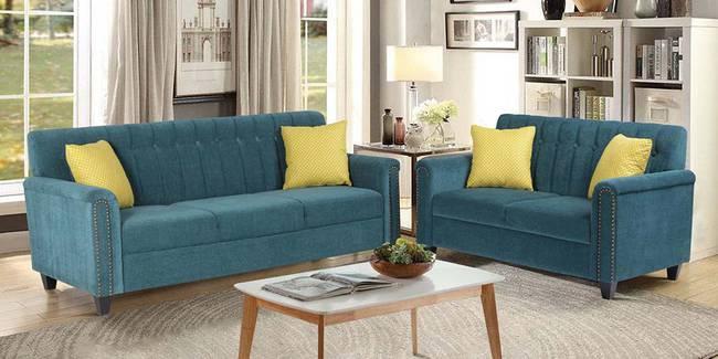Prato Fabric Sofa - Green (Green, None Custom Set - Sofas, 3-2 Set Standard Set - Sofas, Fabric Sofa Material, Regular Sofa Size, Regular Sofa Type)