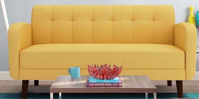 Swindon Fabric Sofa - Yellow (Yellow, 3-seater Custom Set - Sofas, None Standard Set - Sofas, Fabric Sofa Material, Regular Sofa Size, Regular Sofa Type)