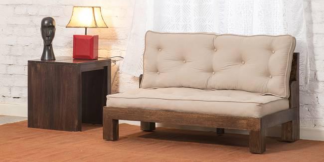 Rawson Wooden Sofa (Walnut) (2-seater Custom Set - Sofas, None Standard Set - Sofas, Regular Sofa Size, Regular Sofa Type, Walnut, Solid_Wood Sofa Material)
