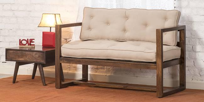 Rosario Wooden Sofa (Walnut) (2-seater Custom Set - Sofas, None Standard Set - Sofas, Regular Sofa Size, Regular Sofa Type, Walnut, Solid_Wood Sofa Material)