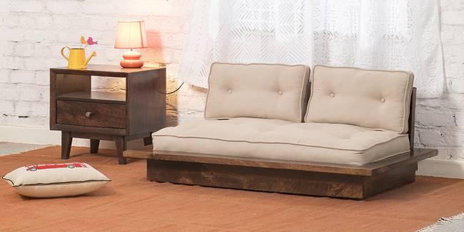 Ankara Wooden Sofa (Walnut) (2-seater Custom Set - Sofas, None Standard Set - Sofas, Regular Sofa Size, Regular Sofa Type, Walnut, Solid_Wood Sofa Material)
