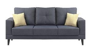 Harlem Fabric Sofa - Blue