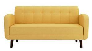Swindon Fabric Sofa - Yellow