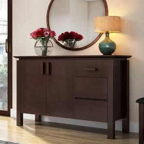 Diner Wide Sideboard (Dark Walnut Finish) by Urban Ladder - Full View Design 1 - 369125