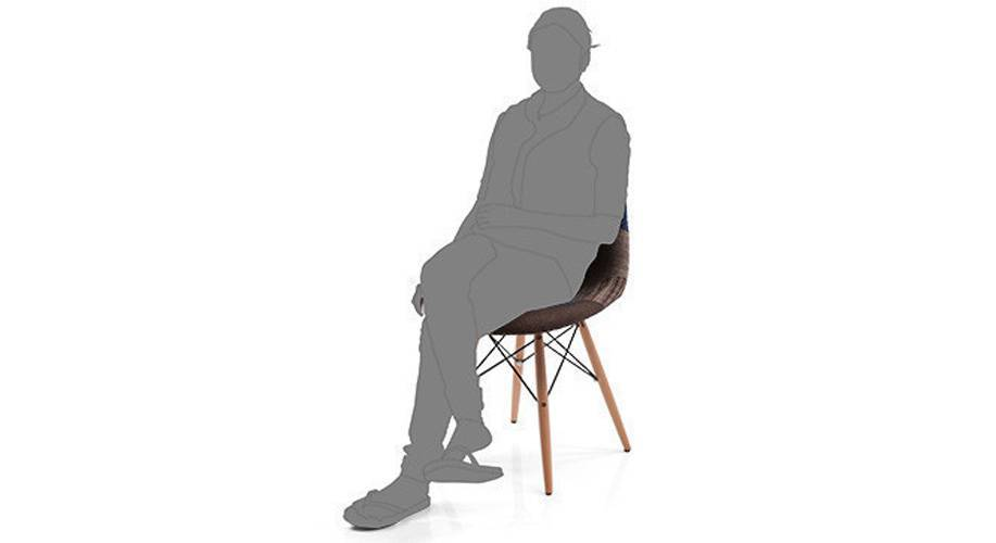 Eames dsw side chair replica patchwork 06 1h3t4004 dm