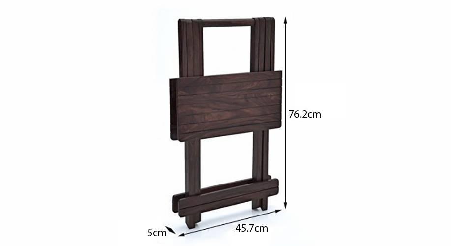 Latt folding table stool tall mahogany finish img 4772 m copy ed 1