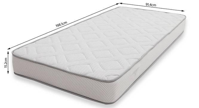 Theramedic Memory Foam Mattress with Latex (Single Mattress Type, 78 x 36 in (Standard) Mattress Size, 6 in Mattress Thickness (in Inches)) by Urban Ladder - -