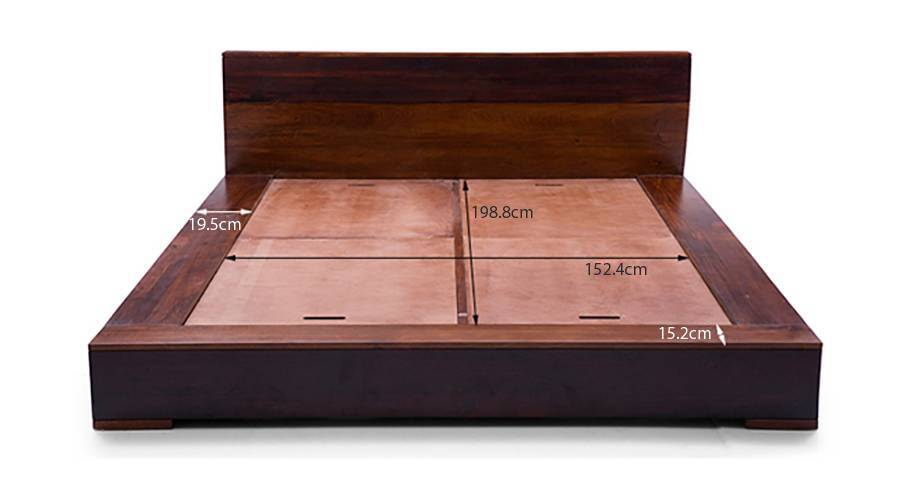 Duetto platform bed 22