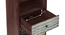 Emaada Tall Chest of Five Drawer (Teak Finish) by Urban Ladder - -