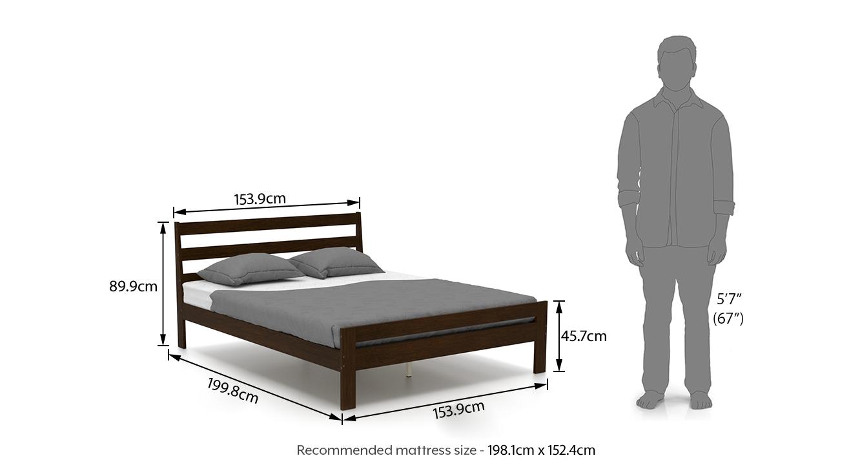 Osaka queen bed