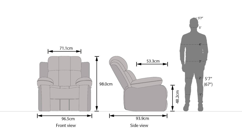 Griffin recliner new dim 33