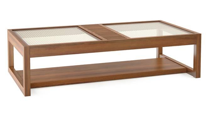 Fujiwara Coffee Table (Amber Walnut Finish) by Urban Ladder - Cross View Design 1 - 370948