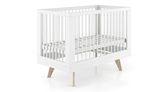 Koster Crib (White Finish) by Urban Ladder - Cross View Design 1 - 370969