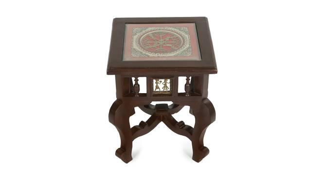 Janaki End Table (Walnut, Matte Finish) by Urban Ladder - Cross View Design 1 - 371059