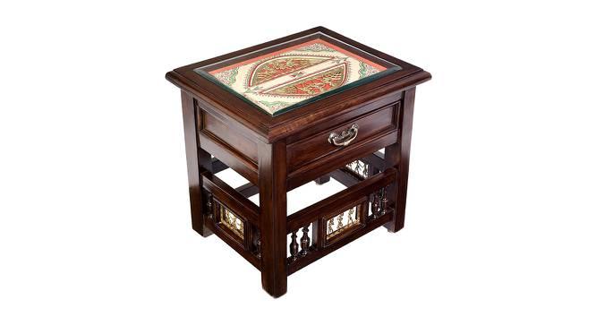 Janya End Table (Walnut, Matte Finish) by Urban Ladder - Cross View Design 1 - 371061