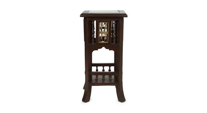 Kashika Planter Table (Walnut, Matte Finish) by Urban Ladder - Cross View Design 1 - 371068