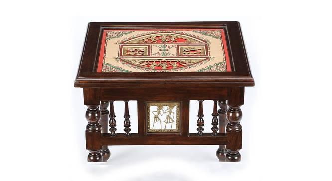 Jalsa Bedside Table (Walnut) by Urban Ladder - Front View Design 1 - 371072