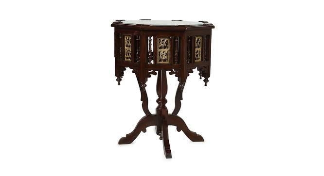 Libni Side Table (Walnut, Matte Finish) by Urban Ladder - Cross View Design 1 - 371134