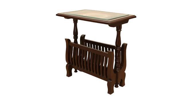 Lochan End Table (Walnut, Matte Finish) by Urban Ladder - Cross View Design 1 - 371135