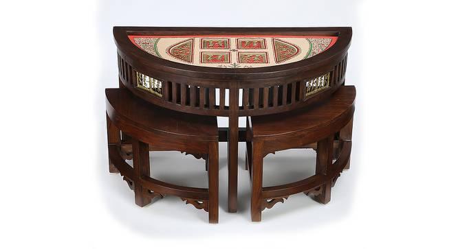 Nayantara Coffee Table (Walnut, Matte Finish) by Urban Ladder - Cross View Design 1 - 371192