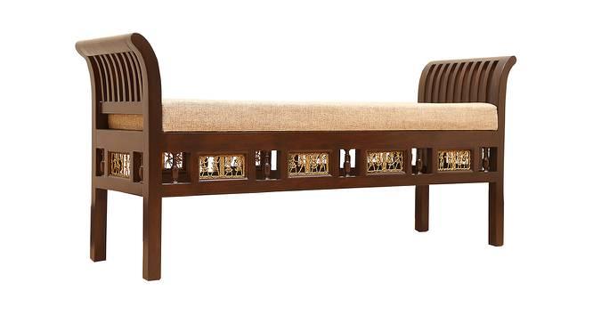 Rajata Lobby Chair (Walnut, Matte Finish) by Urban Ladder - Cross View Design 1 - 371309