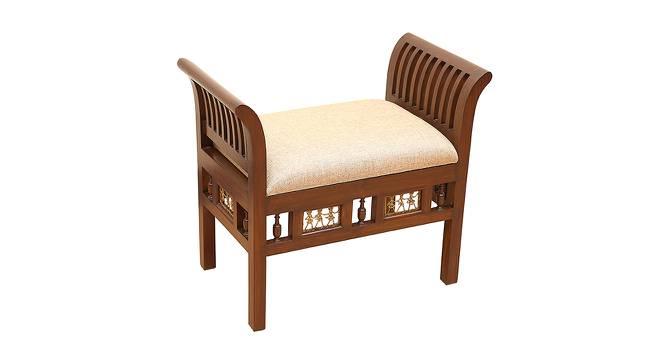 Rajeshri Lobby Chair (Walnut, Matte Finish) by Urban Ladder - Cross View Design 1 - 371310