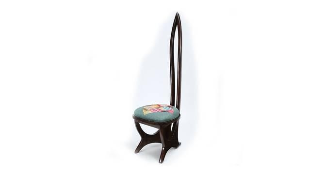 Raksha Lobby Chair (Walnut, Matte Finish) by Urban Ladder - Cross View Design 1 - 371311