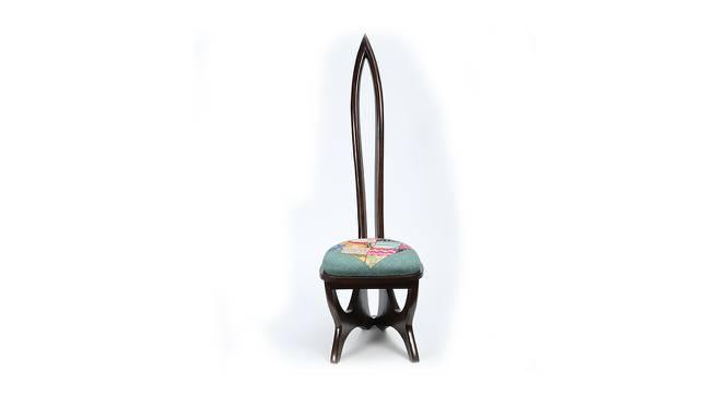 Raksha Lobby Chair (Walnut, Matte Finish) by Urban Ladder - Front View Design 1 - 371323