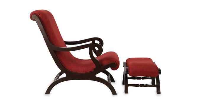 Sahana Lobby Chair (Walnut, Matte Finish) by Urban Ladder - Front View Design 1 - 371325