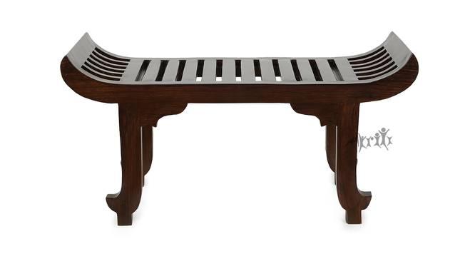 Sai Lobby Chair (Walnut, Matte Finish) by Urban Ladder - Cross View Design 1 - 371371