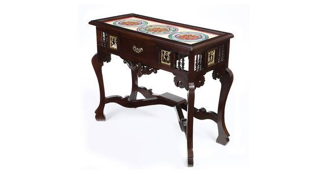 Sneha Console Table (Walnut, Matte Finish) by Urban Ladder - Cross View Design 1 - 371378