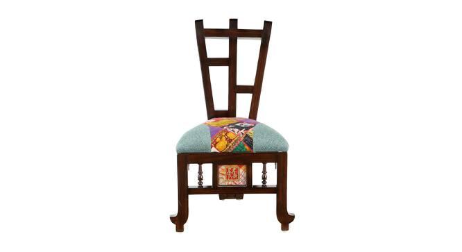 Saumya Lobby Chair (Walnut, Matte Finish) by Urban Ladder - Front View Design 1 - 371386