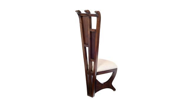 Shanaya Lobby Chair (Walnut, Matte Finish) by Urban Ladder - Front View Design 1 - 371387