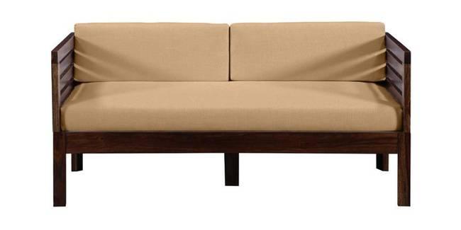 Aspen Wooden Sofa (Provincial Teak) (2-seater Custom Set - Sofas, None Standard Set - Sofas, Fabric Sofa Material, Regular Sofa Size, Regular Sofa Type, PROVINCIAL TEAK)
