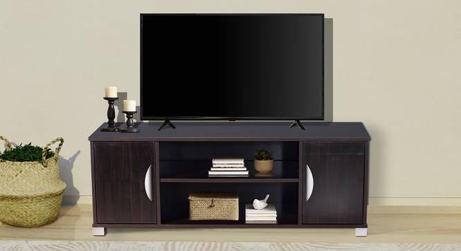 Aislinn TV Unit (Melamine Finish, Wenge) by Urban Ladder - Cross View Design 1 - 371467