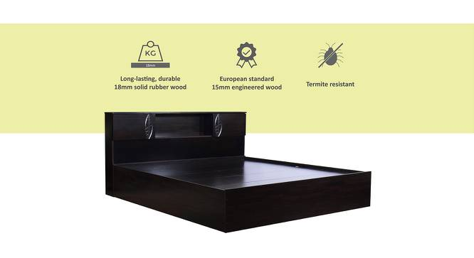 Banaba Storage Bed (King Bed Size, Melamine Finish) by Urban Ladder - Cross View Design 1 - 371472
