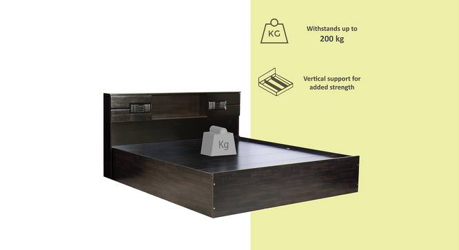 Antioco Storage Bed (Queen Bed Size, Melamine Finish) by Urban Ladder - Front View Design 1 - 371479