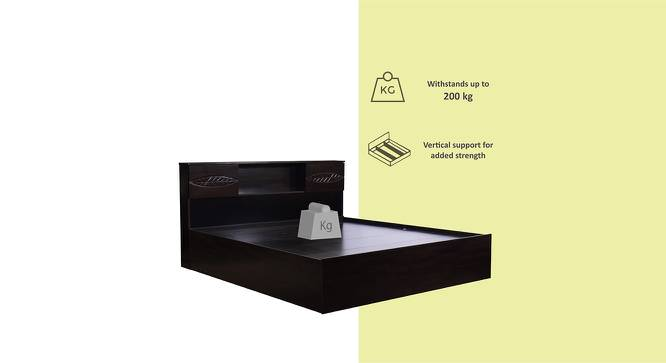 Amakusa Storage Bed (Queen Bed Size, Melamine Finish) by Urban Ladder - Front View Design 1 - 371480