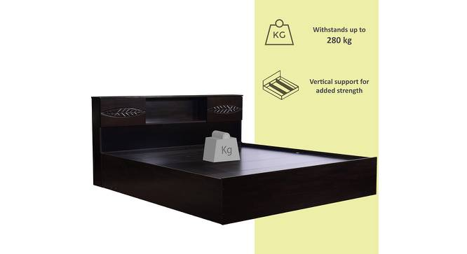 Awaji Storage Bed (King Bed Size, Melamine Finish) by Urban Ladder - Front View Design 1 - 371481