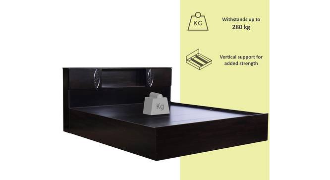 Banaba Storage Bed (King Bed Size, Melamine Finish) by Urban Ladder - Front View Design 1 - 371482