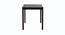 Ansley 4 Seater Dining Set (Wenge, Veneer Finish) by Urban Ladder - Design 1 Side View - 371496