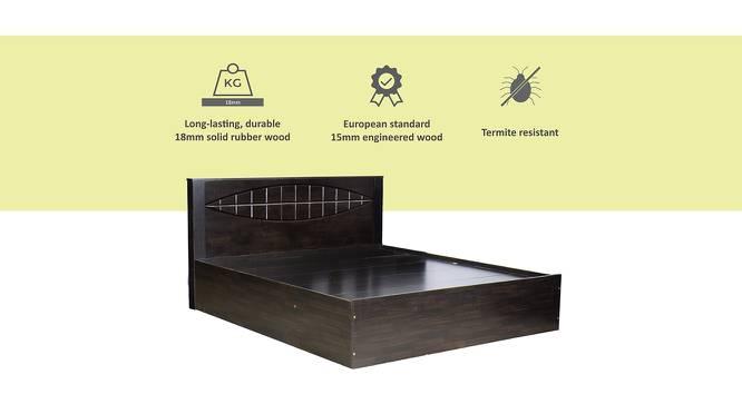 Caprera Storage Bed (Queen Bed Size, Melamine Finish) by Urban Ladder - Cross View Design 1 - 371548