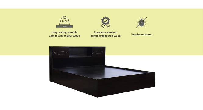 Bonin Storage Bed (Queen Bed Size, Melamine Finish) by Urban Ladder - Cross View Design 1 - 371550