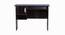 Blair Study Table (Melamine Finish, Wenge) by Urban Ladder - Front View Design 1 - 371555