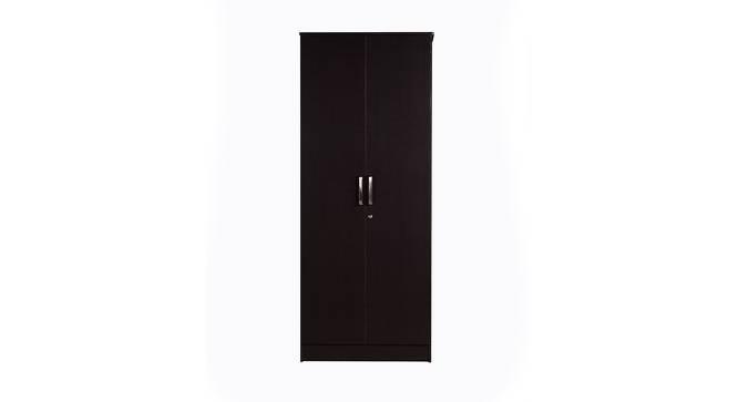 Camryn 2 door Wardrobe (Laminate Finish, Wenge) by Urban Ladder - Front View Design 1 - 371563