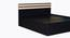 Caroline Bed (Queen Bed Size, Laminate Finish, Wenge) by Urban Ladder - Design 1 Close View - 371595