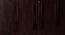 Carmen 4 door Wardrobe (Melamine Finish, Wenge) by Urban Ladder - Design 1 Close View - 371598