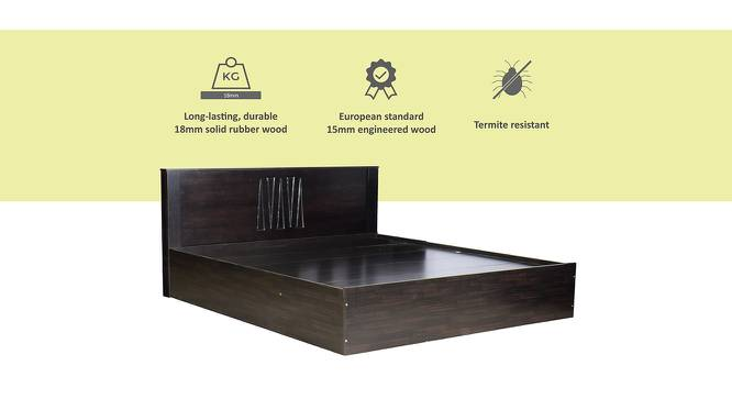 Eolie Storage Bed (King Bed Size, Melamine Finish) by Urban Ladder - Cross View Design 1 - 371635